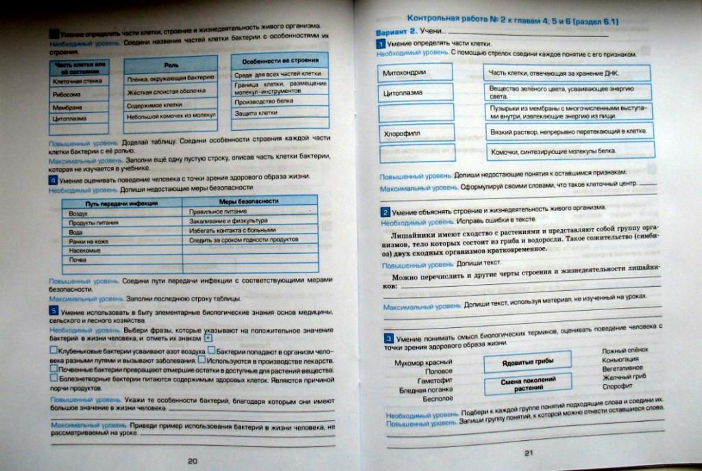 Итоговая контрольная работа по биологии класс  Итоговая контрольная работа по биологии 10 класс по биологии